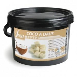 Dès de noix de coco Sosa 2,5 kg