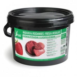 Lyophilized slices strawberry Sosa 300 g