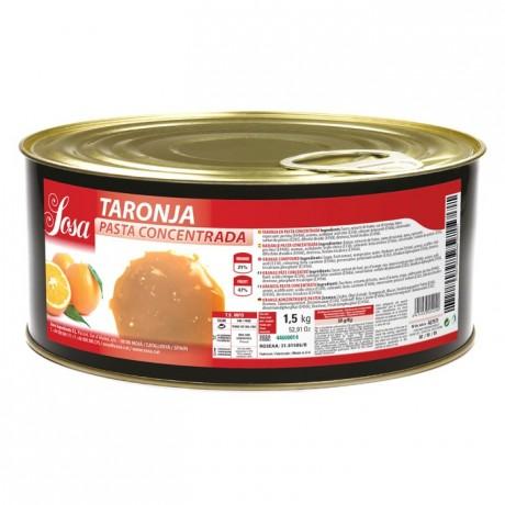 Orange concentrated dough Sosa 1,5 kg