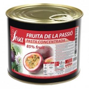 Pâte concentrée de fruit de la passion Sosa 1,5 kg