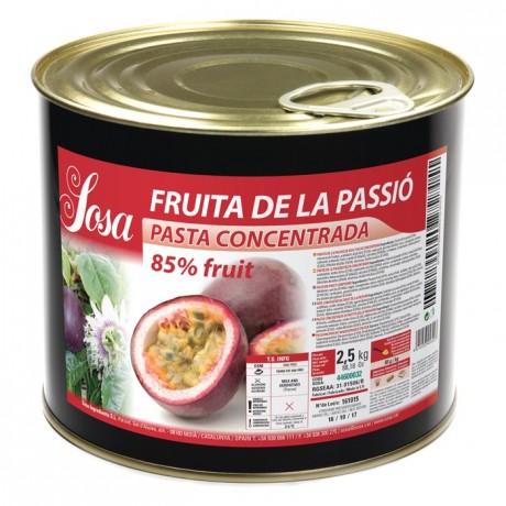 Passion fruit concentrated dough Sosa 1,5 kg