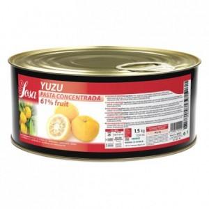 Pâte concentrée de yuzu Sosa 1,5 kg