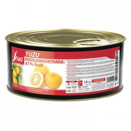 Yuzu concentrated dough Sosa 1,5 kg