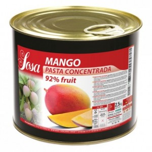 Mango concentrated dough Sosa 2,5 kg