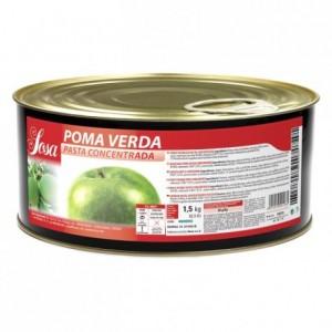 Pâte concentrée de pomme verte Sosa 1,5 kg