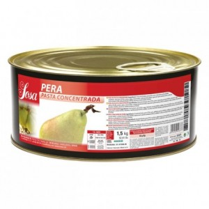 Pear concentrated dough Sosa 1,5 kg
