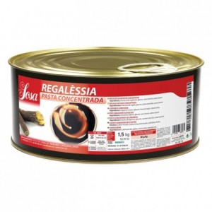 Licorice concentrated dough Sosa 1,5 kg