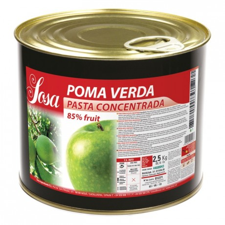Apple concentrated dough Sosa 2,5 kg