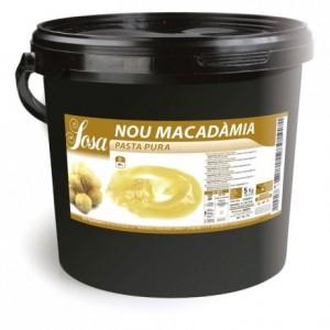 Macadamia pure paste 100 % Sosa 5 kg