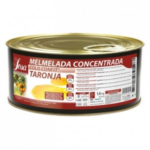Orange concentrated jam Sosa 1,5 kg