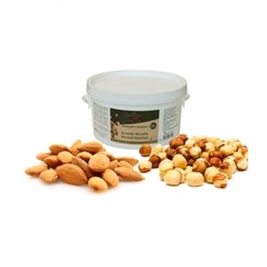 Almond Hazelnut Fruity and Crunchy Praliné 50% nuts 2 kg