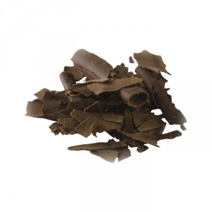 Dark chocolate shavings 45,5% cocoa 2,5 kg