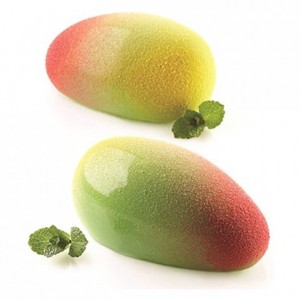 Mango130 silicone mould 93 x 57 x 42 mm