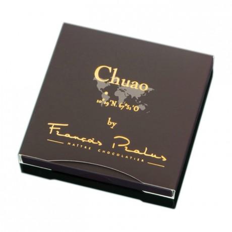 Chocolat noir Chuao Pralus tablette 50 g
