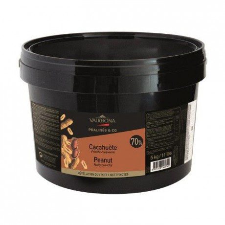 Praliné cacahuète 70% 5 kg