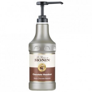 Sauce chocolat noisette Monin 1,89 L