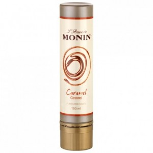 Stylo sauce de décoration caramel Monin 15 cL