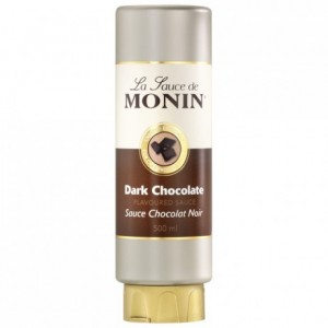 Dark chocolate Monin sauce 50 cL