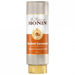 Salted caramel Monin sauce 50 cL