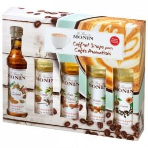 Coffret sirops café Monin 5 x 5 cL