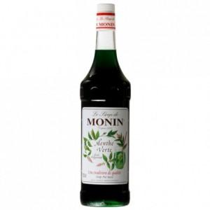 Green mint Monin syrup 1 L