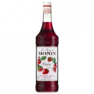 Strawberry Monin syrup 1 L