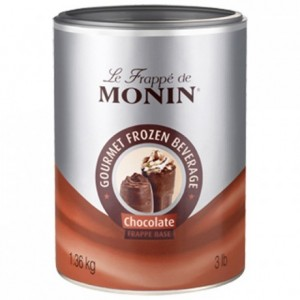 Chocolate frappé base Monin 1,36 kg