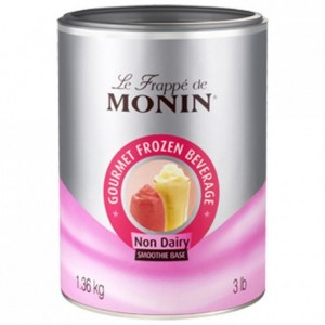 Frappé base neutre Monin 1,36 kg