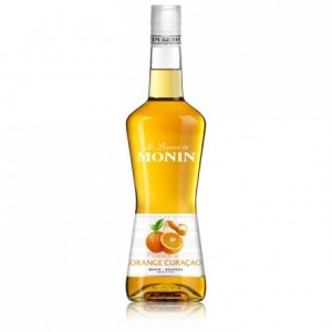 Liqueur orange curaçao 24% Monin 70 cL