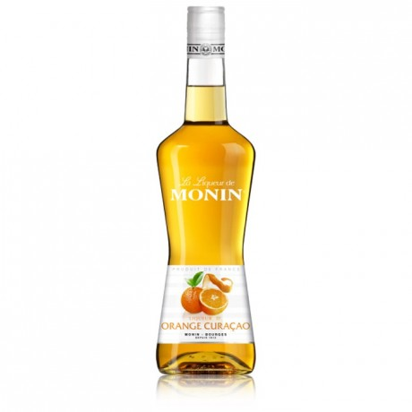 Liqueur orange curaçao 24 % Monin 70 cL