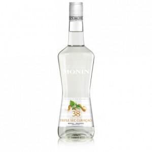 Liqueur triple sec curaçao 38% Monin 70 cL