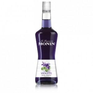 Liqueur violette 16% Monin 70 cL