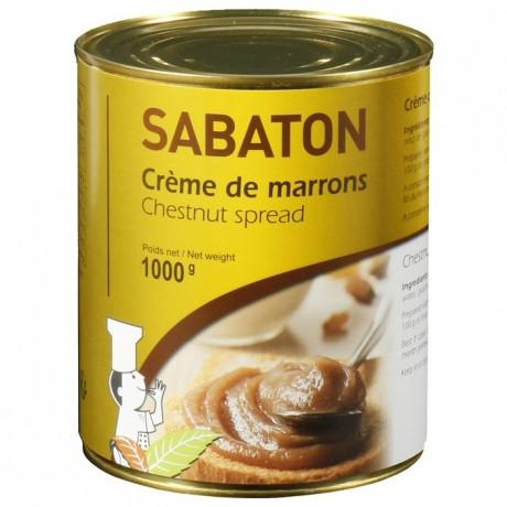 Crème de marrons Sabaton 1 kg