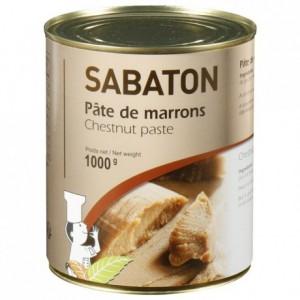Pâte de marrons Sabaton 1 kg