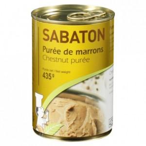 Purée de marrons Sabaton 435 g