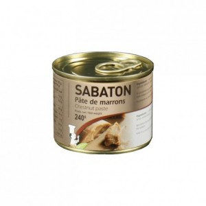 Pâte de marrons Sabaton 240 g
