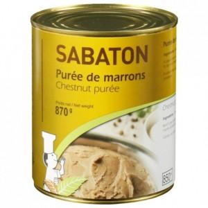 Chestnut puree Sabaton 870 g