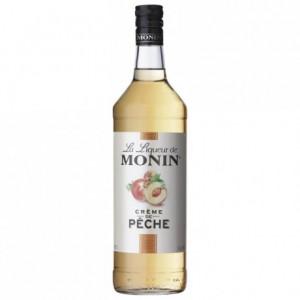 Peach Monin liqueur 1 L