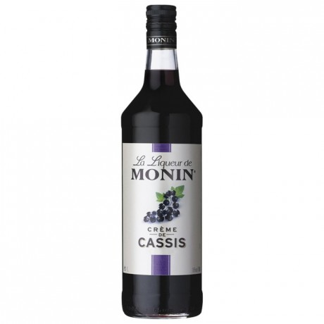 Blackcurrant Monin liqueur 1 L