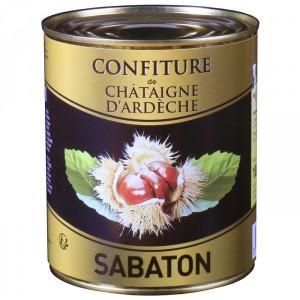Confiture de châtaignes d'Ardèche AOP Sabaton 1 kg