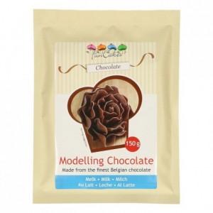 Chocolat plastique FunCakes chocolat blanc 150 g