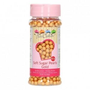 Perles tendres FunCakes or 60 g