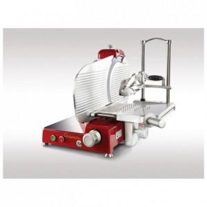 Trancheuse électrique Chromatic rouge Ø 350 mm