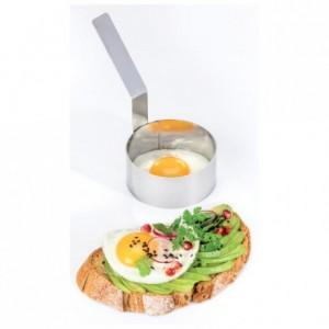 Cercle à œuf inox Ø 85 mm