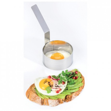 Egg ring stainless steel Ø 85 mm