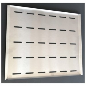 Baking tray perforated stainless steel 255 x 310 mm for oven FCV 280