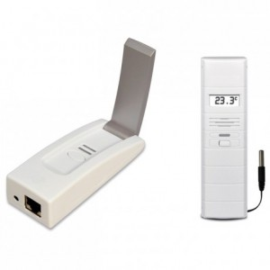 Connected thermometer kit