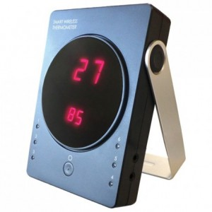 Connected oven thermometer