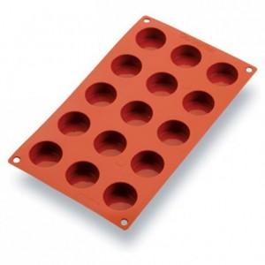 Moule silicone Gastroflex 15 petits fours ronds Ø 40 mm