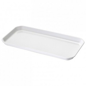 Tray ABS white 415 x 205 mm